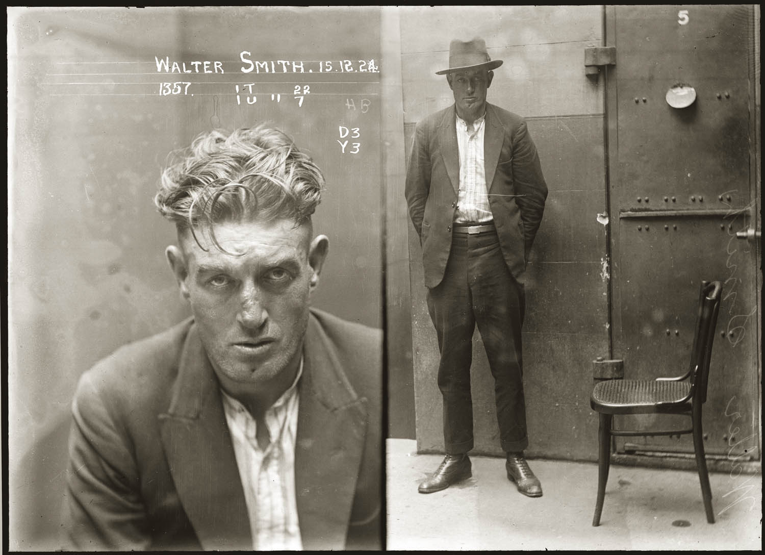 Vintage Mugshots From 1920s